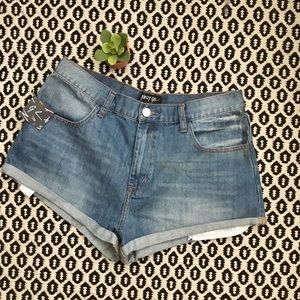 NWT Nasty Gal Denim Shorts